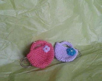 Little basket keychain