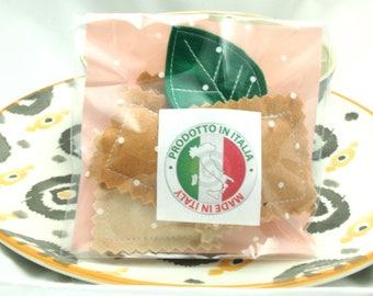 Bag of ravioli and the sweet felt ✤ ✤ Dinette sweet basil