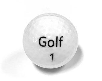 Exploding Gender Reveal Golf Ball