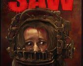 Saw (Jigsaw) movie - A3 P...