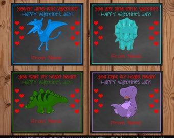 Dinosaur Valentine.  Dinosaur Valentine Card, Dinosaur Valentines, School Valentines,Dino Valentine, Classroom Valentine, Kids Valentine