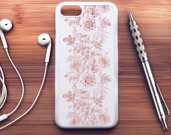 Floral Wood iPhone 7 Case floral iPhone 6s Case iPhone 6 Plus Case iPhone 6s Plus Case iPhone 5s Case Floral iPhone SE Case iPhone 5c Case