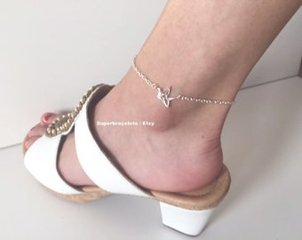cool girl silver beautiful beach foot chain s anklets sandal barefoot jewelry accessories anklet adjustable item