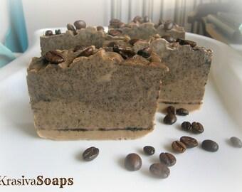 Coffee soap / Natural coffee soap / Handmade coffee soap
