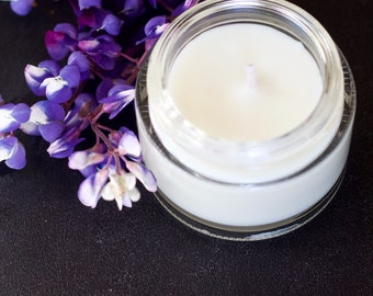Lavender Candle, vegan candle, coconut wax candles, natural candle