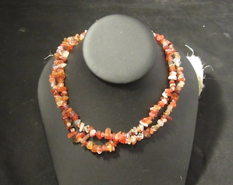 Natural agate chip beads