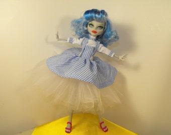 Drop Dead Dorothy for Monster High Dolls