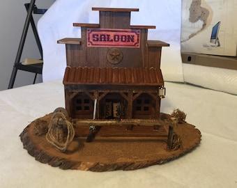 Saloon Diorama