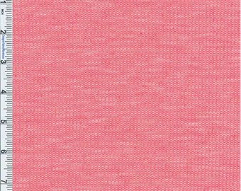 Punch Slub Novelty Thermal Jersey Knit, Fabric By The Yard