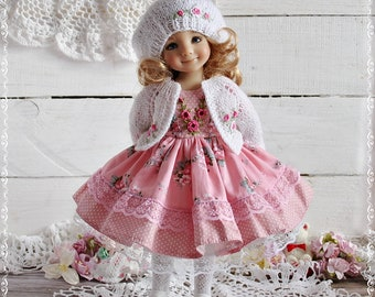 "Dianna Effner Dress for doll 13"" Little Darling set Outfit"