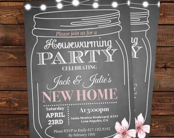 Housewarming Party Invitations Template - Housewarming BBQ Party - Housewarming invitations PDF Instant Download -  DIY Party Invitation