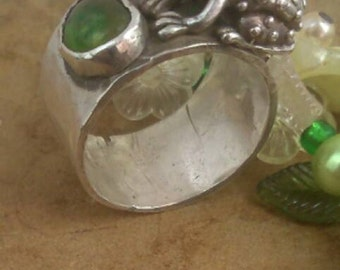 Frog Prince ring, Frog jewelry, Silver  Frog  fairy tale, handmade ring, fantasy ring, statement ring, fairy tale ring, Unusual ring,
