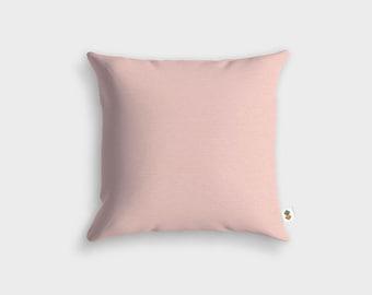 Basic PINK POWDER cushion - Made in France - 45 x 45 cm