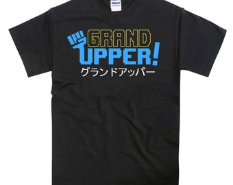 Grand Upper Streets of Rage Bare Knuckle Inspired Tshirt