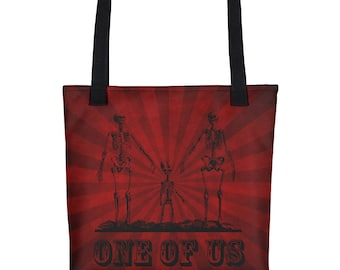 One Of Us Tote- Striped- Limited
