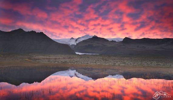 Hvannadalshnjúkur, Öræfajökull [Photographic Print]
