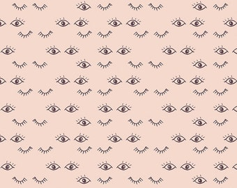 Hello, Ollie by Art Gallery Fabrics - Meadow Dreams Lace - Organic Cotton Woven Fabric