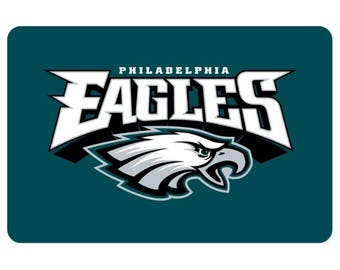 Philadelphia Eagles Mini License Plate | 2 inch x 3 inch Aluminum Mini License Plate | Bike License Plate