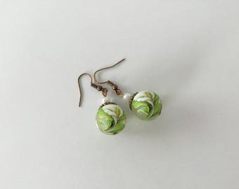Earrings Japanese beads