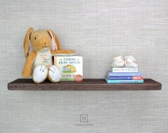 Home Floating Shelf, Wood Hidden Bracket Floating Shelves, Rustic Floating Shelf, Blind Floating Shelves, Wood Shelf, Bathroom, Home Decor