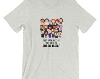 Smash the Patriarchy Pop Culture Short-Sleeve Unisex T-Shirt S-4X