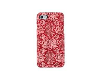 iPhone 7 Case, iPhone 8 Case, iPhone X Case, Red iPhone 5 Case, Henna iPhone Case, iPhone 7 plus case, Samsung S8 Case, Galaxy S6 Case