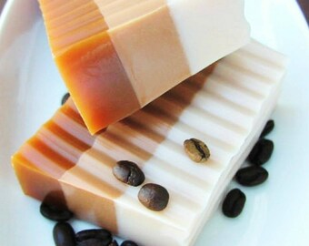 Gift for Him. Gift for Her. Coffee Gift. Coffee Lovers Gift. Coffee Soap. MOCHA LATTE COFFEE Soap. Foodie Gift. Starbucks. best friend gift