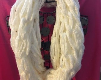 Long Knit Infinity Scarf