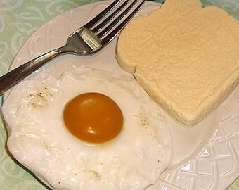 Eggs and Toast Breakfast Soap Set