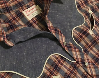 Wrangler Long Tails Button Up