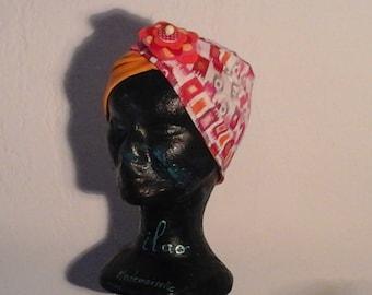 Multicolor child chemo Hat
