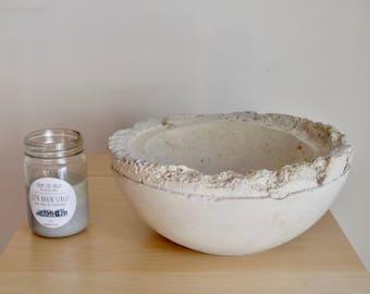 Decorative Concrete Bowl