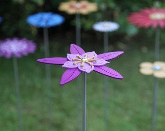 Pollination Flower Stem - Aquilegia