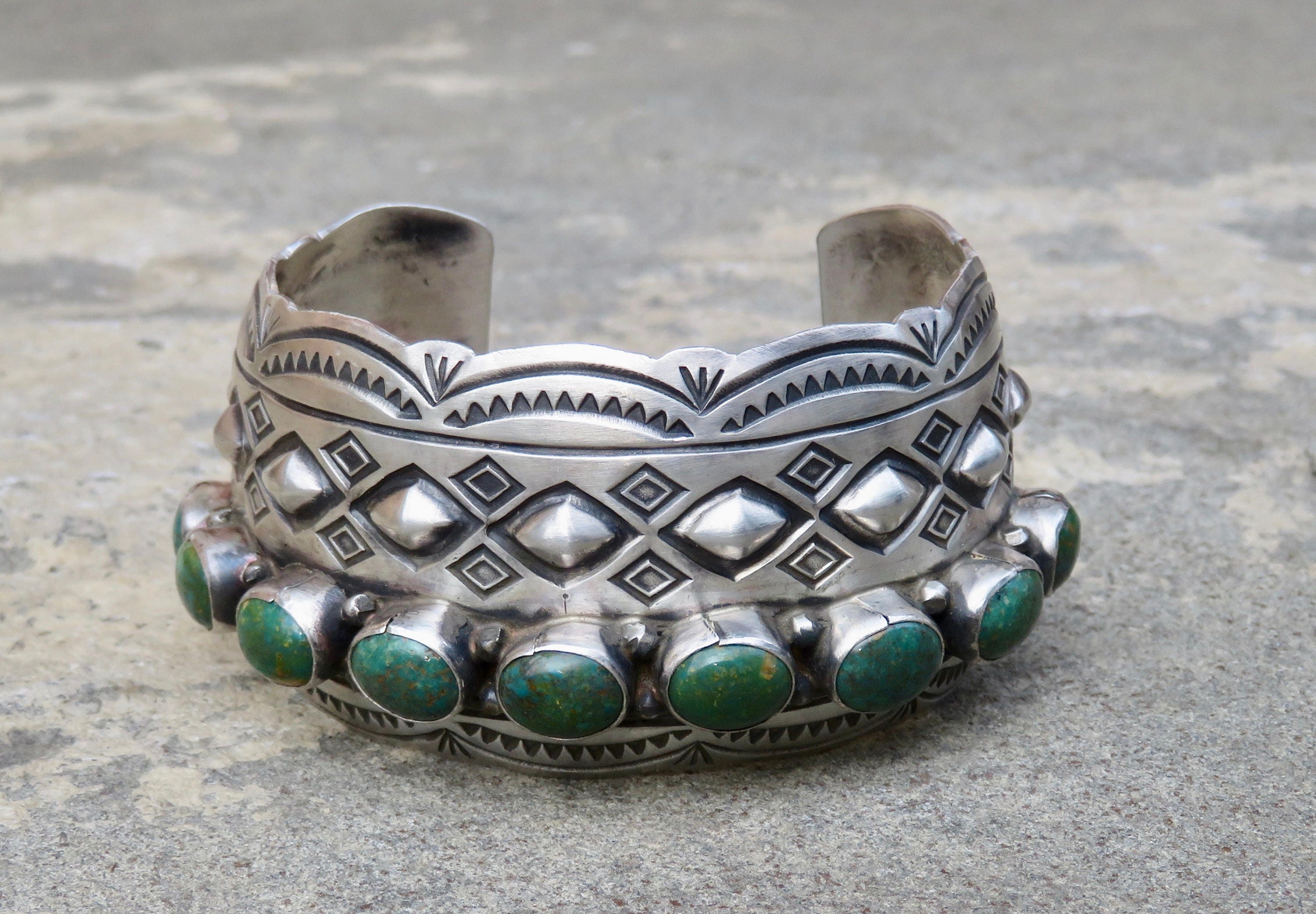 hoel jewelry american silver navajo s indian turquoise guild vintage shop native art bracelet