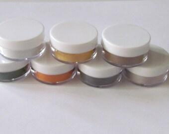 Enamel kit - Fall Color Kit - Starter Kit - set of 7 -Enameling Torching Supplies - Thompson enamel - metalsmithing - fire torching supplies