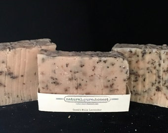 Goat's Milk Lavender Soap - FREE SHIPPING OPTION!