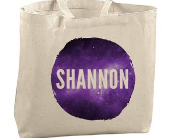 Custom Tote Bag Teacher Custom Tote Bag Canvas Constellation Tote Bag Space Tote Bag Science Teacher Bag Science Teacher Gift Custom Canvas
