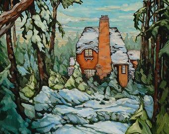 Highland Snow Archival Giclée Print