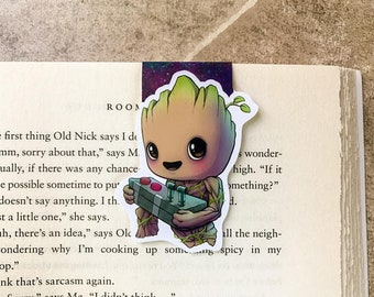 Baby Groot Magnetic Bookmark