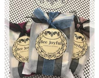 Bee Joyful ** Artisan Soap ** Handmade Cold Process - Wildflower Honey