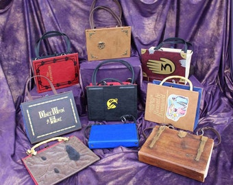 Custom Legendary Geek Book Replica Custom Bag / Clutch / Purse / Satchel / Handbag