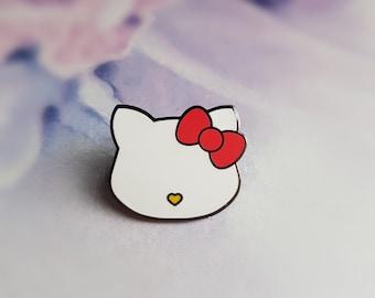 Pretty Kitty - Hard Enamel pin