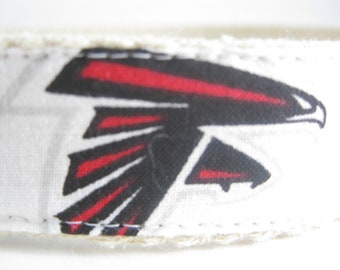 Atlanta Falcons hemp dog collar or leash