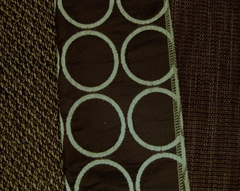 Dk Brown Circle Tweed Designer Fabric Sample Pillow Kit Lot Vanguard 3 pcs