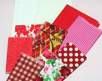 Fabric scrap pack- vintage inspired- More than 2 yards- stash builder- quilting- scrap pack- designer- remnants- cotton