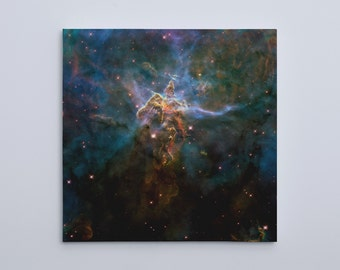 "Mystic Mountain, HD Hubble Image (20"" x 20"") - Canvas Wrap Print"