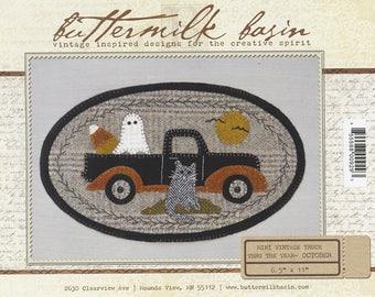SALE! Mini Vintage Truck Pattern by Buttermilk Basin - October