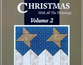 Quilt Pattern | Thimbleberries | HOMETOWN CHRISTMAS | Volume 2 | With All The Trimmings | Lynette Jensen | Quilting | Quilting Book