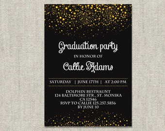 Graduation party invitations etsy graduation party invitation filmwisefo