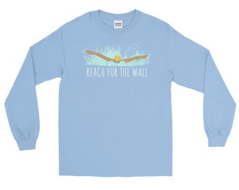 Swimming Tshirt, Swimming Gift, Swimming Shirt, Swim Team Gift, Swim Coach Gift, Gifts for Swimmers, Swim T-Shirt, Swimmer Gifts, Swimming T